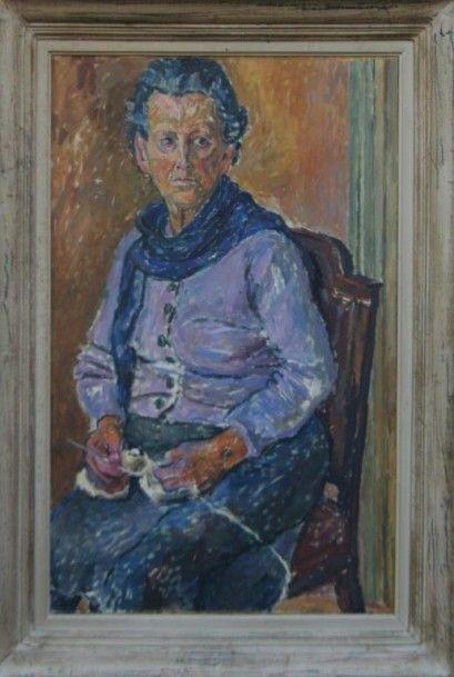 CZAPSKI Józef (1896-1993) Portrait de Mme...