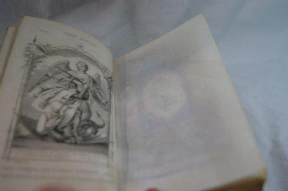 """Laurent Scopoli """"Le Combat Spirituel"""". Tours,Mame, 1862. Orné de gravures. Une page..."""