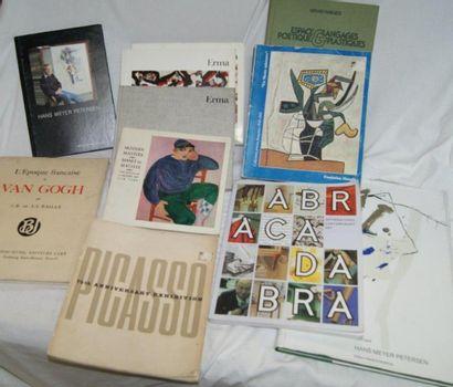Lot de livres d'Arts : Picasso, Van Gogh...