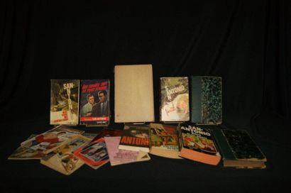 Lot de livres et romans dont Napoléon, San...