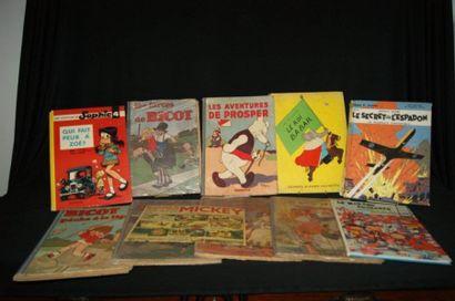 Petit lot de livres pour enfants : Le Journal...