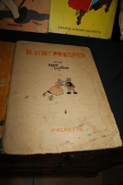 Petit lot de livres pour enfants : Le Journal de Mickey, les Aventure de Prosper,...