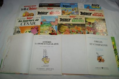 ASTERIX Lot de 10 albums : Astérix chez les...