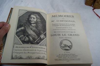 D'ARTAGNAN Mémoires. Jean de Bonnot, 1966. 3 tomes.