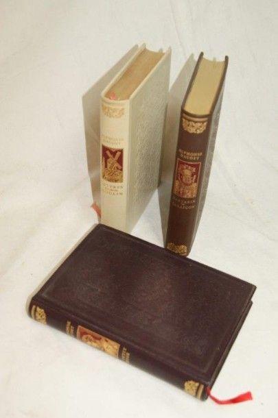 Alfonse Daudet (3 volumes), Jean de Bonneau,...