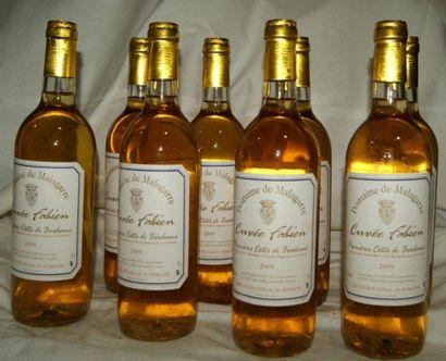 8 bouteilles de Premières Côtes de Bordeaux,...