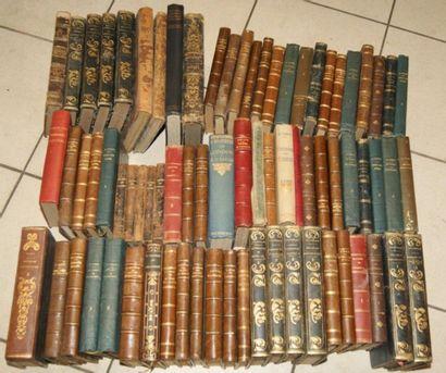 Fort lot de livres reliés XIXe et XXe, dont...