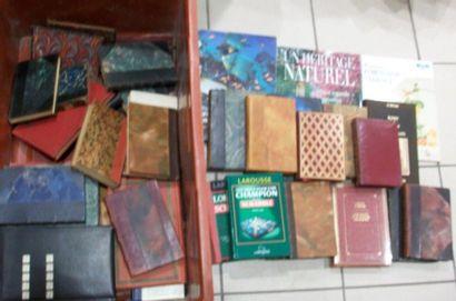 Fort lots de livres XXe reliés dont romans,...
