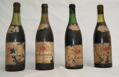 4 bouteilles de Côtes du Rhône