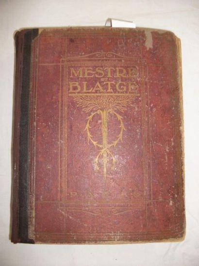 Ancien catalogue des Etablissements Mestre...