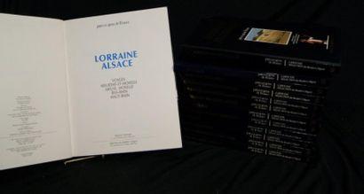 Collection de livres sur les Régions de France....