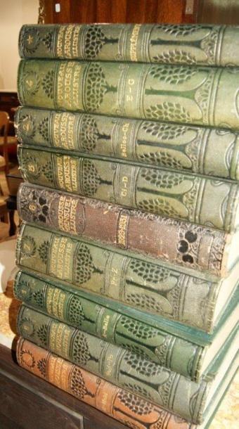 Le nouveau Larousse illustré. 8 tomes + le...