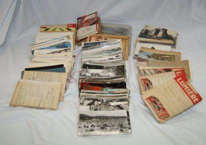 Fort lot de cartes postales semi-modernes...