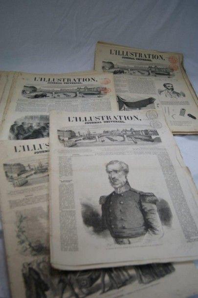 Petit lot de journaux XIXe :