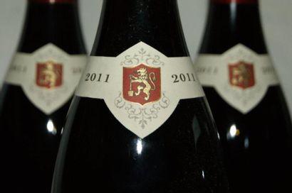 6 bouteilles de Bourgogne Pinot noir, Joseph Faiveley, 2011