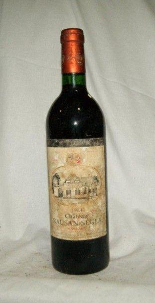 1 bouteille de Margaux, château Rosan-Ségla,...