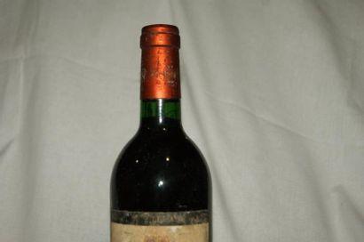 1 bouteille de Margaux, château Rosan-Ségla, 1984 (es, tlb)