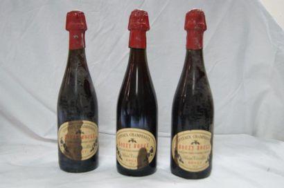 3 bouteille de Côteaux Champenois, Bouzy...