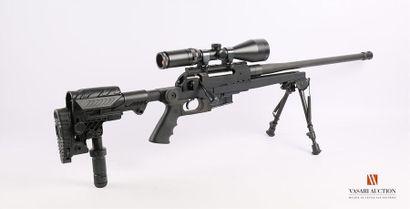 Carabine de tir à verrou RS PRODUCTION UNIQUE, canon lourd de 51 cm calibre 300...