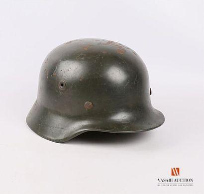 Casque allemand modèle 1940 , reconditionné...