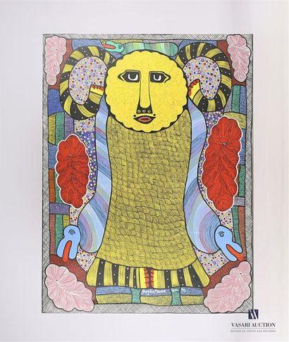PIERRE-LOUIS Prospère (1947-1997) Soleil...