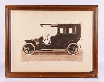 RENAULT Frères - Limousine 14-20 HP Héliotypie...