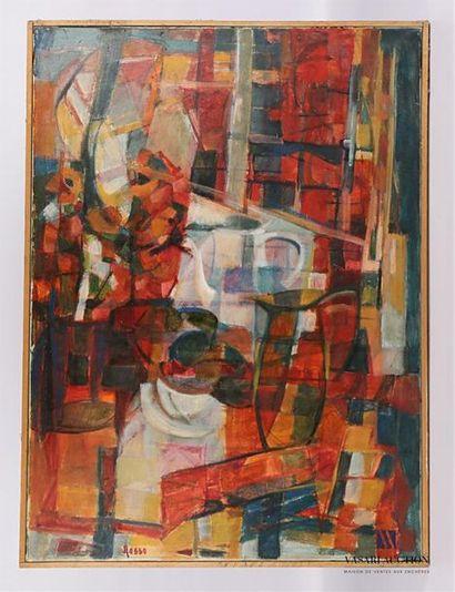 ROSSO Eliane (1928-1994) Nature morte à la...