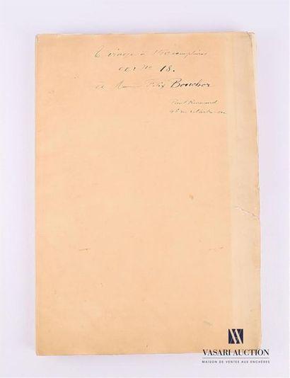 RENOUARD Paul (1845-1924), d'après Receuil...