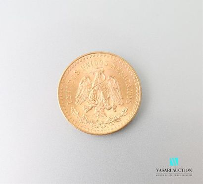 Pièce en or de 50 pesos 1821-1947 Poids :...