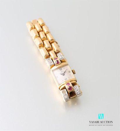 Omega années 40, montre bracelet de dame...