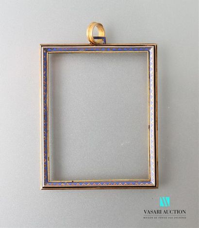 Monture de pendentif en or rose 750 millièmes...