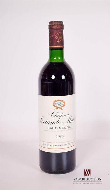 1 bouteilleChâteau SOCIANDO MALLETHaut...