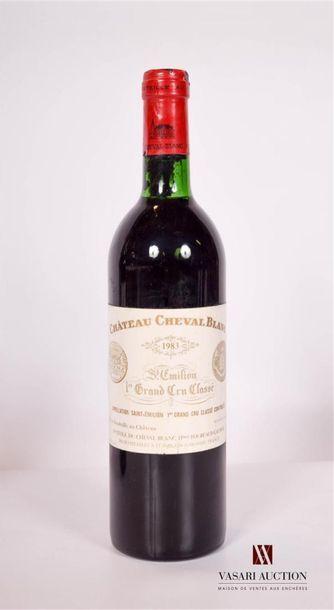 1 bouteilleChâteau CHEVAL BLANCSt Emilion...