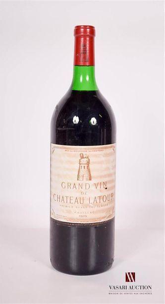 1 MagnumChâteau LATOURPauillac 1er GCC1979...
