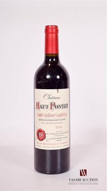 1 bouteilleChâteau HAUT PONTETSt Emilion...
