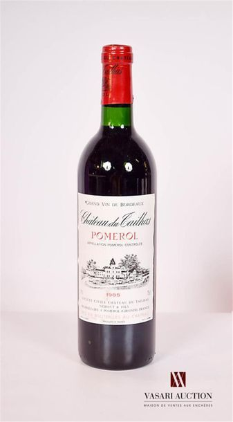 1 bouteilleChâteau DU TAILHASPomerol1985...