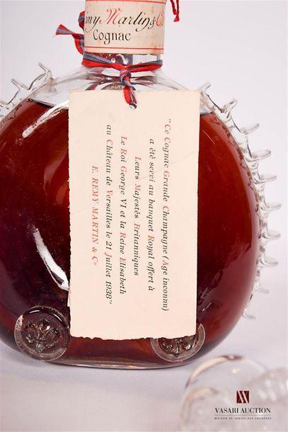 1 CarafeGrande Champagne Cognac LOUIS XIII mise Rémy Martin Très Vieille Age...