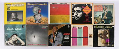 Lot de dix vinyles : - Claude Bolling Les...