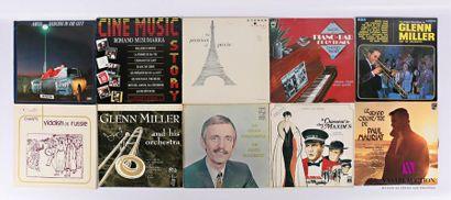 Lot de dix vinyles : - Anita Dancing in the...