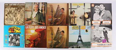 Lot de dix vinyles : - Nos veillées d'antan...