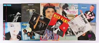 Lot de treize vinyles : - Anna Prucnal -...