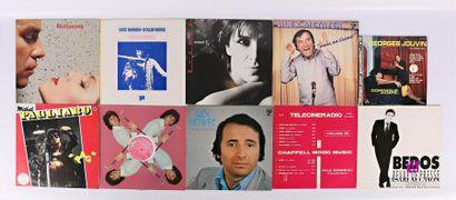 Lot de dix vinyles : - Thierry Matioszek-...