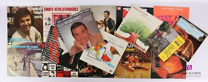 Lot de seize vinyles : - Robert Yosef Bahr...