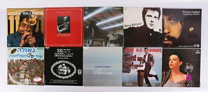 Lot de dix vinyles : - Dizzy Gillespie The...
