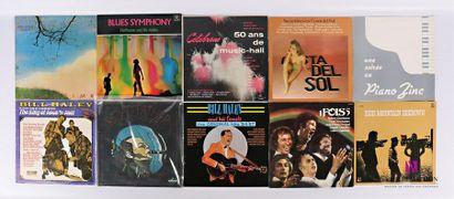 Lot de dix vinyles : - Daryl Hall Dreamtime...