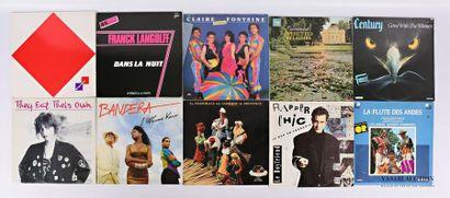 Lot de dix vinyles : - Parler d'amour - 1...