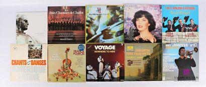 Lot de dix vinyles : - Darkwood Weltenwende...
