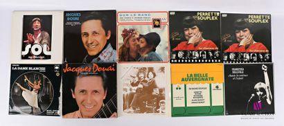 Lot de dix vinyles : - SOL Rien détonnant......