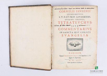 CORNELII IANSENII - Cornelii Iansenii Leerdamensis,...
