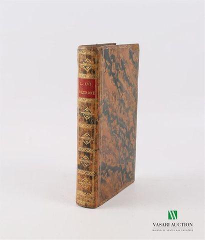 PROYART Abbé - Louis XVI détroné avant d'être...